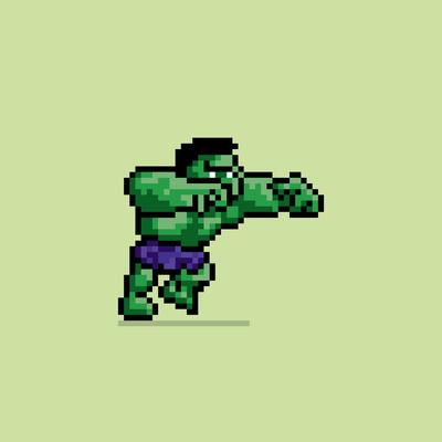8 Bit Hulk
