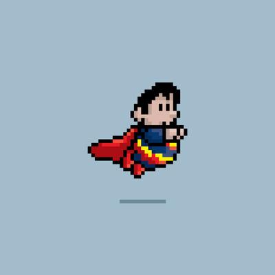 8 Bit Superman