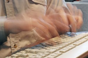 Fast writer