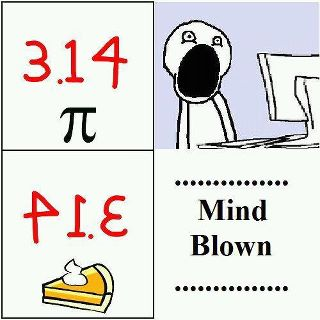 mindblown by pie and pi