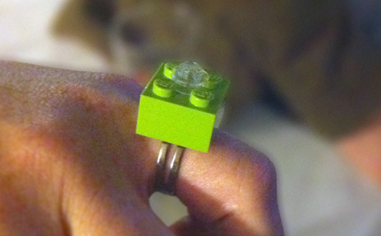 LEGO Diamond Ring