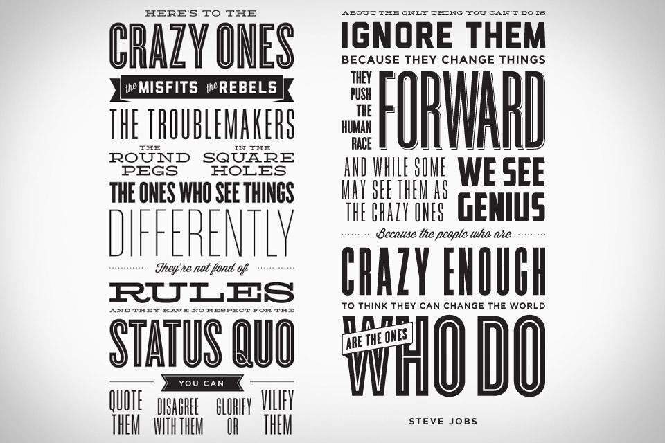 Crazy Ones Poster